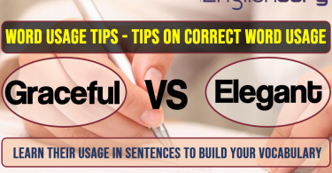 Word Usage Tips graceful, Elegant