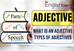 Parts of Speech, Adjective