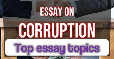 Corruption essay in english with outline , Top essay topics